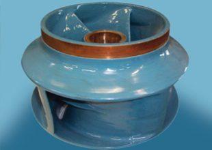 Une pompe dont le rendement a été améliorer avec les produits Belzona.