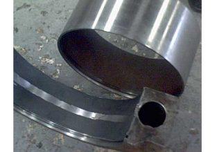 La phase 3 de l'application du produit Belzona 1111.