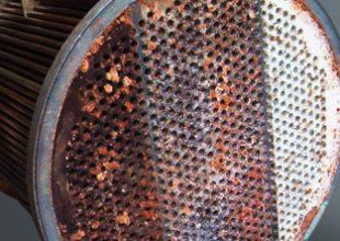 Pièce métallique à protéger avec un produit Belzona.