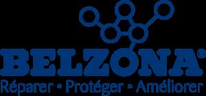 Le logo français de l'entreprise Belzona.