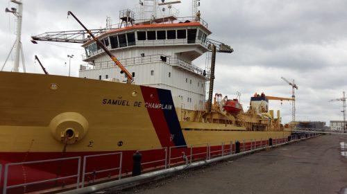 "Le bateau ""Samuel Champlain"""