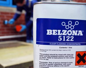 Un bidon de Belzona 5122